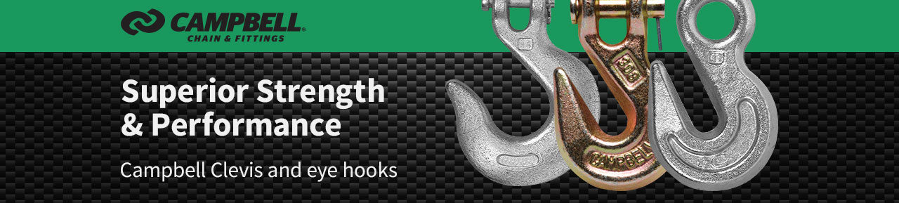 Campbell clevis & eye hooks