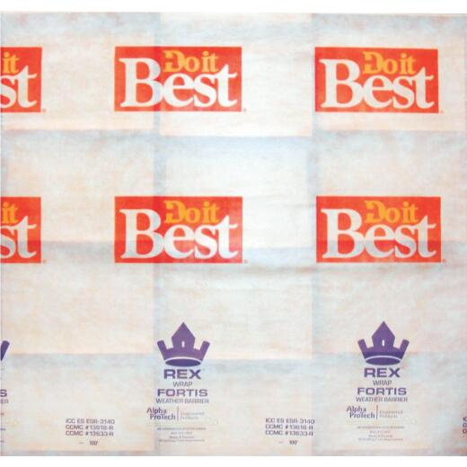 Do it Best REX Wrap Fortis 9 Ft. x 100 Ft. House Wrap