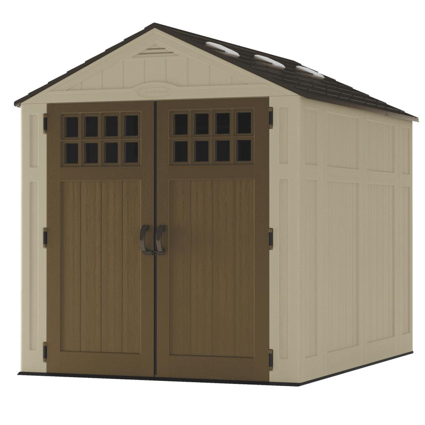 Suncast Everett 306 Cu. Ft. Storage Shed Image 1