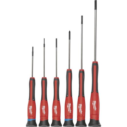 Milwaukee Precision Screwdriver Set (6-Piece)