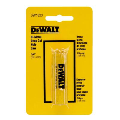 DeWalt 3/4 In. Bi-Metal Hole Saw