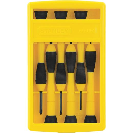 Stanley Precision Screwdriver Set (6-Piece)