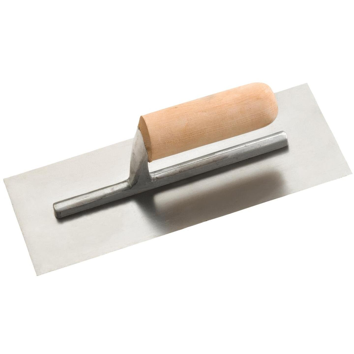Do it 4-1/2 In. x 11 In. Finishing Trowel with Basswood Handle Image 1