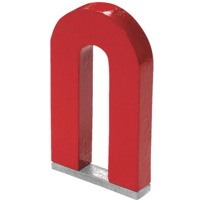 Master Magnetics 3 Lb. Horseshoe Alnico Power Magnet
