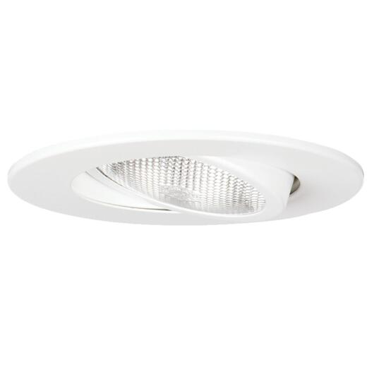 Thomas 5 In. White Surface Gimbal Recessed Fixture Trim