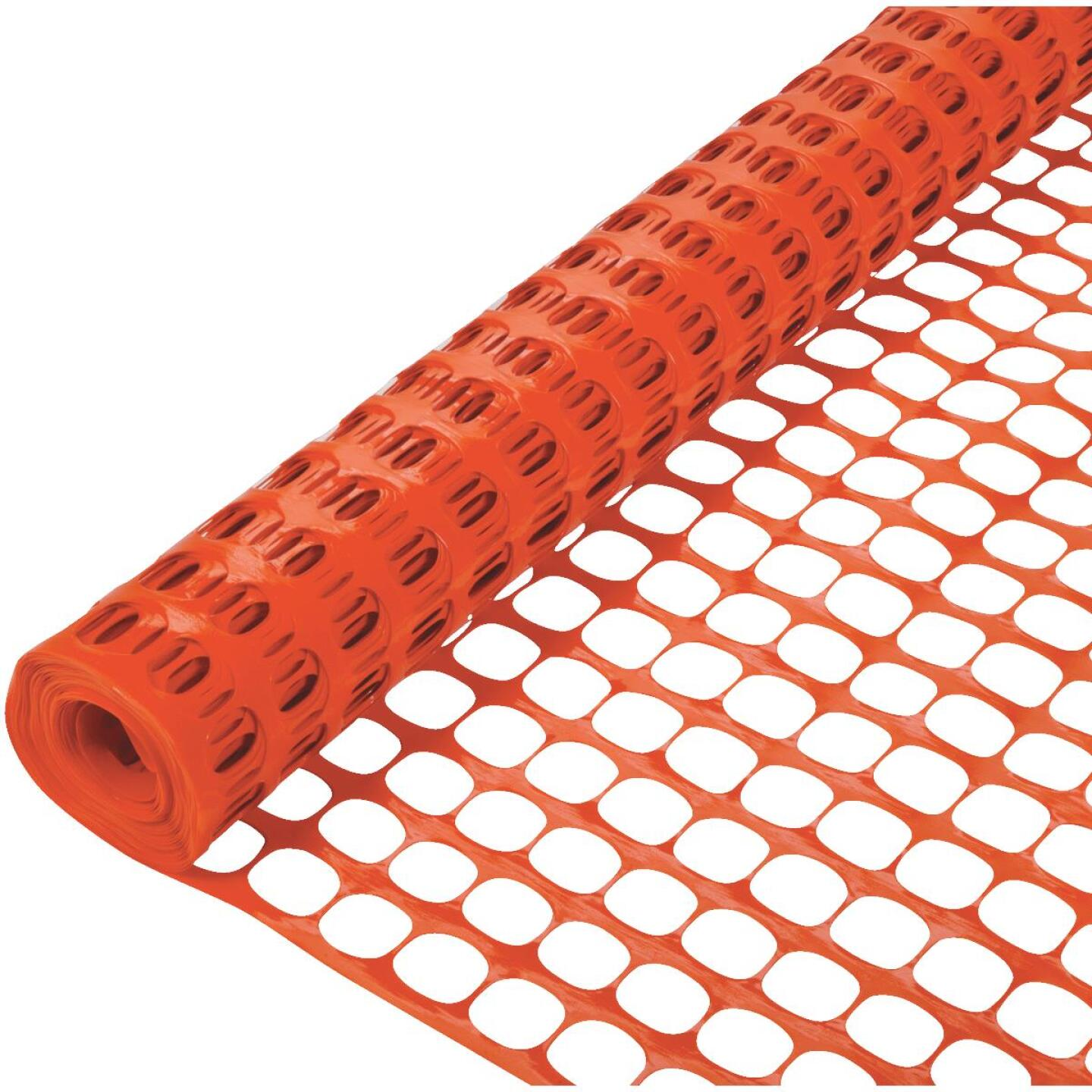 Tenax Sno-Guard 4 Ft. H. x 50 Ft. L. Polyethylene Snow Safety Fence, Orange Image 2