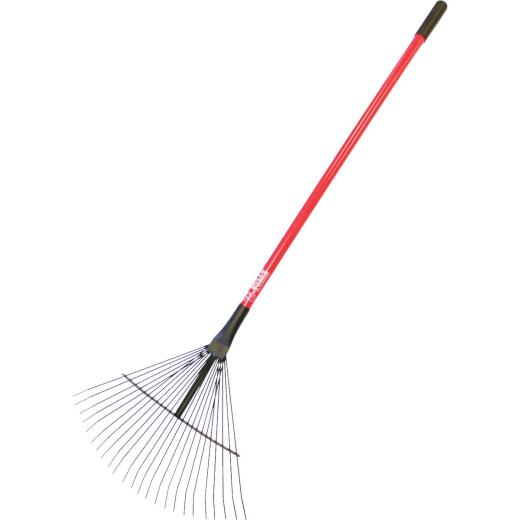 Bully Tools 24 In. Steel Leaf Rake (24-Tine)